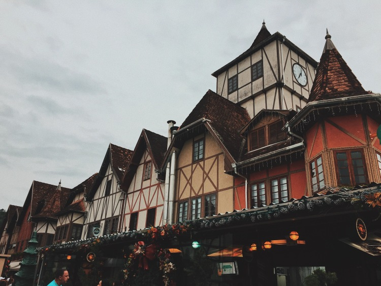 German Village in Blumenau, Brazil